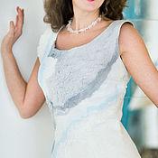 "Одежда handmade. Livemaster - original item Dress felting ""Lada"". Handmade."