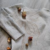Одежда ручной работы. Ярмарка Мастеров - ручная работа Авторское войлочное платье ручной работы. Handmade.