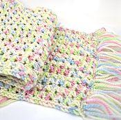 Аксессуары ручной работы. Ярмарка Мастеров - ручная работа Самый мягкий и тёплый шерстяной шарф. Handmade.