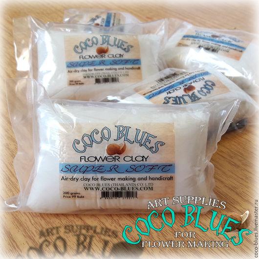 Глина COCO BLUES SUPER SOFT  (Коко Блюз - Супер софт)  `Кокосов Блюз` Таиланд  © Coco Blues (Thailand) Co. Ltd