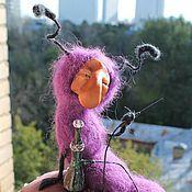 Куклы и игрушки ручной работы. Ярмарка Мастеров - ручная работа Гусеница томно курила кальян... Handmade.