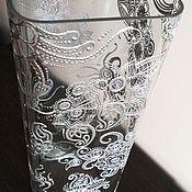 Для дома и интерьера ручной работы. Ярмарка Мастеров - ручная работа Ваза «Морозное кружево». Handmade.