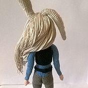 Куклы и игрушки ручной работы. Ярмарка Мастеров - ручная работа каркасная кукла крючком. Handmade.
