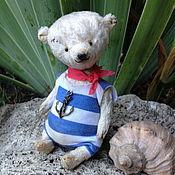 Куклы и игрушки ручной работы. Ярмарка Мастеров - ручная работа Мишка моряк. Handmade.