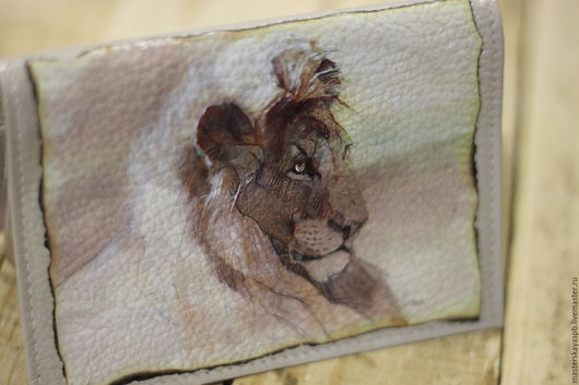 """Обложки ручной работы. Ярмарка Мастеров - ручная работа. Купить Обложка на паспорт """"Король лев"""". Handmade. Обложка на паспорт"""