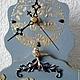 """Часы для дома ручной работы. Часы настенные """"Погружение в сказку"""". Миленькие штучки (chasovschik). Ярмарка Мастеров. Часы с домиками"""