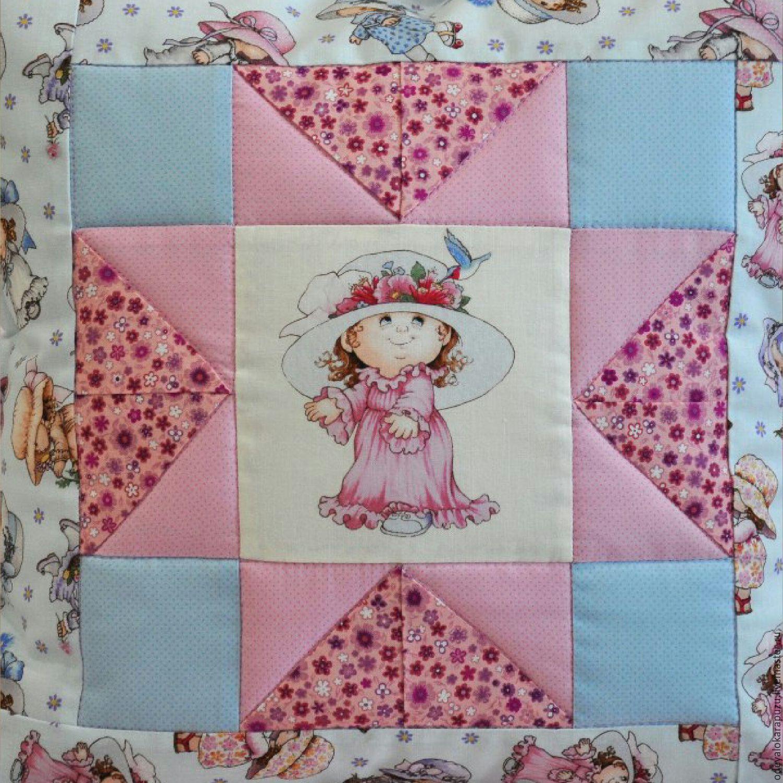 Лоскутные одеяла с вышивкой