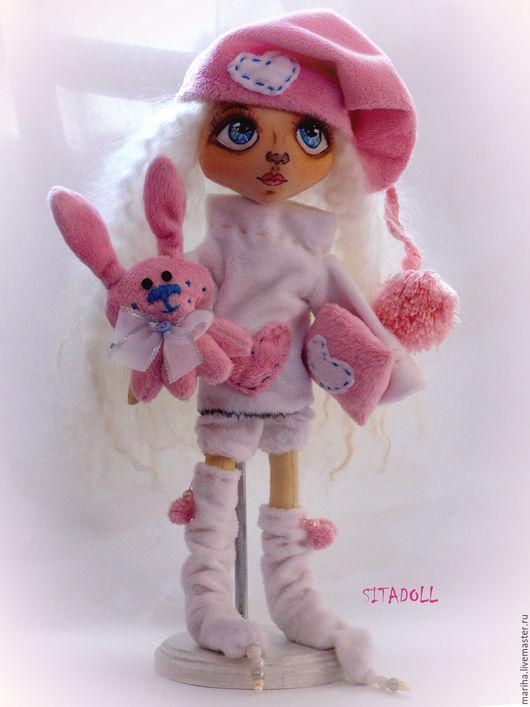 """Куклы тыквоголовки ручной работы. Ярмарка Мастеров - ручная работа. Купить Кукла """"Спать пора"""". Handmade. Тыквоголовка, кукла текстильная"""