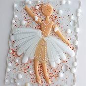 Картины и панно ручной работы. Ярмарка Мастеров - ручная работа панно из стекла, фьюзинг Балерина. Handmade.