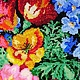 """Женские сумки ручной работы. Авторская сумка вышитая бисером """" « flower Garden»"""". ALEXANDRA TOKAREVA. Ярмарка Мастеров."""