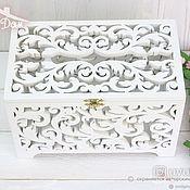 Свадебный салон handmade. Livemaster - original item Wooden envelope box. Handmade.