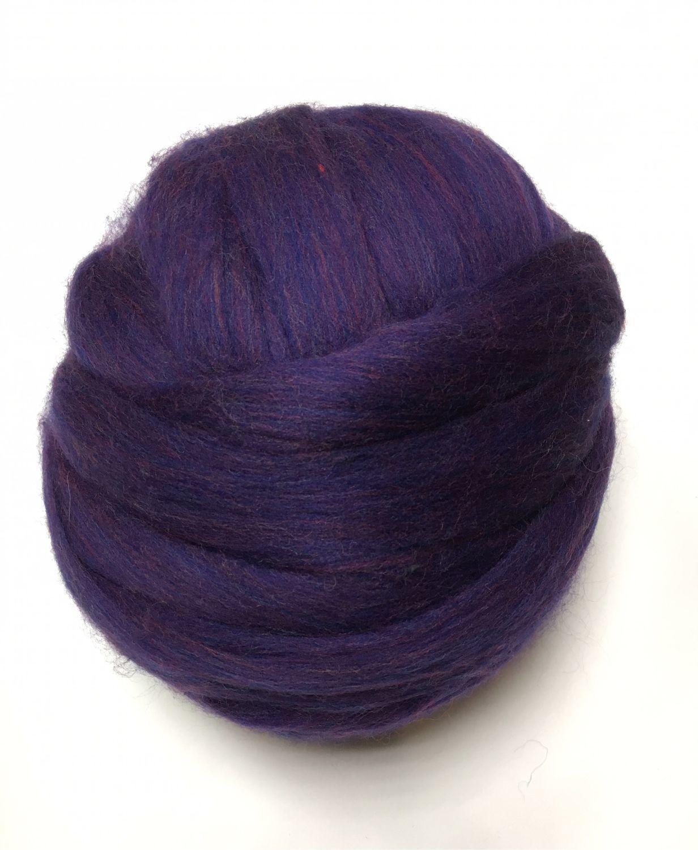 21 MD. Austria. Merino melange. Blue lilac. Germany.Wool, Wool, Berdsk,  Фото №1