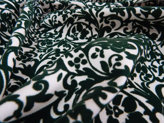 Шитье ручной работы. Ярмарка Мастеров - ручная работа. Купить Итальянская ткань, жаккард. Handmade. Комбинированный, ткань, итальянская ткань