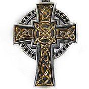 Украшения handmade. Livemaster - original item The cross of Columbus, with plate of gold. Handmade.