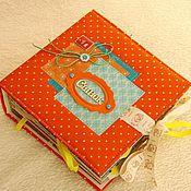 Фотоальбомы ручной работы. Ярмарка Мастеров - ручная работа Фотоальбом для мальчика. Handmade.