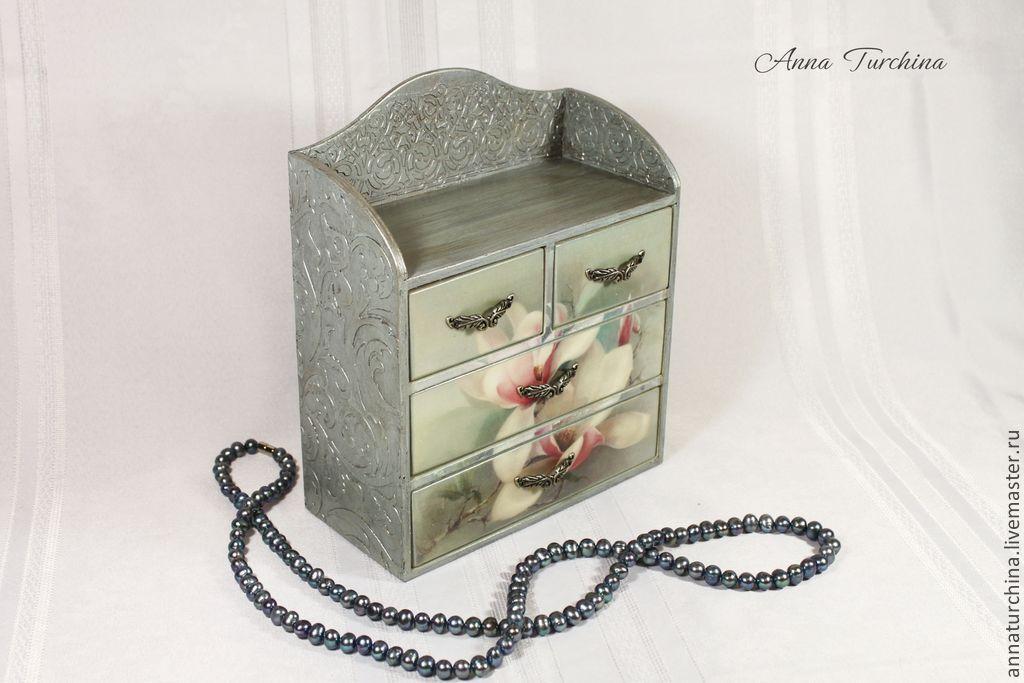 Купить Шкатулки и комоды для украшений в Киеве, цена (Картинки)