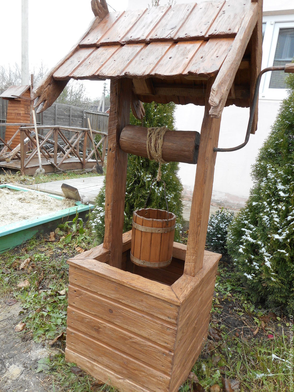 Как сделать деревянный колодец - AtmWood 45