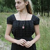 Одежда ручной работы. Ярмарка Мастеров - ручная работа Платье  льняное № 1. Handmade.