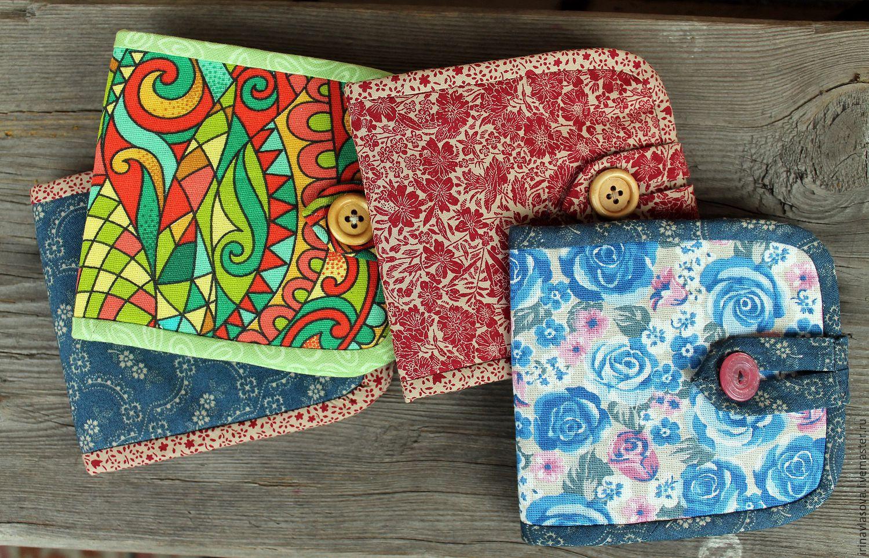 02b9871b5dabc ручной работы. Ярмарка Мастеров - ручная работа. Купить Текстильный кошелек.  Handmade.