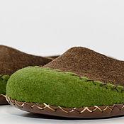 """Обувь ручной работы. Ярмарка Мастеров - ручная работа Тапочки валяные - мокасины """"Команчи"""". Handmade."""