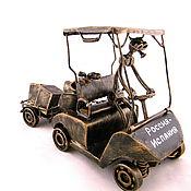 Сувениры и подарки handmade. Livemaster - original item Un golfista aficionado. Handmade.