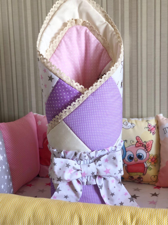 Комплект для новорождённого, Бортики в кроватку, Тула,  Фото №1