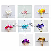 Материалы для творчества handmade. Livemaster - original item Stamens, pearlized, round different. Handmade.