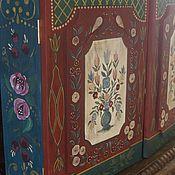 Для дома и интерьера handmade. Livemaster - original item Hanging cabinet with a painting in the European style. Handmade.