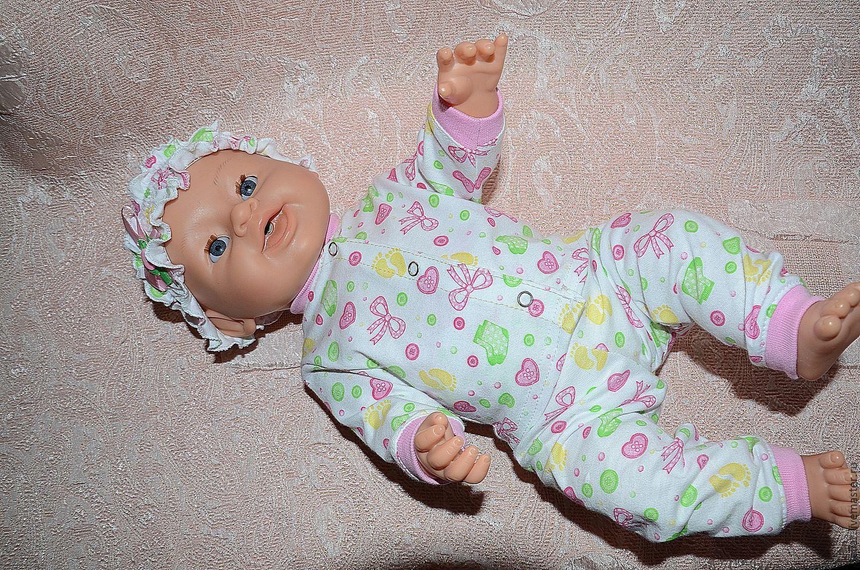 Пижама для куклы своими руками 11
