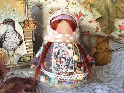 Народные куклы ручной работы. Ярмарка Мастеров - ручная работа. Купить Кукла-оберег Крупеничка (Зерновушка). Handmade. Кукла оберег