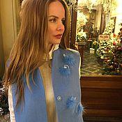 """Одежда ручной работы. Ярмарка Мастеров - ручная работа Жилет """"Blue"""". Handmade."""