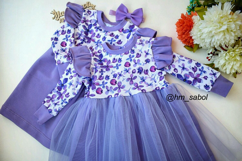 Одежда для девочек, ручной работы. Ярмарка Мастеров - ручная работа. Купить Трикотажное платье для девочки. Handmade. Трикотажное платье