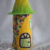 """Для дома и интерьера ручной работы. Ярмарка Мастеров - ручная работа Ночник """"Солнечный"""". Handmade."""