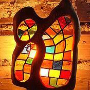 Для дома и интерьера ручной работы. Ярмарка Мастеров - ручная работа светильник настенный. Handmade.
