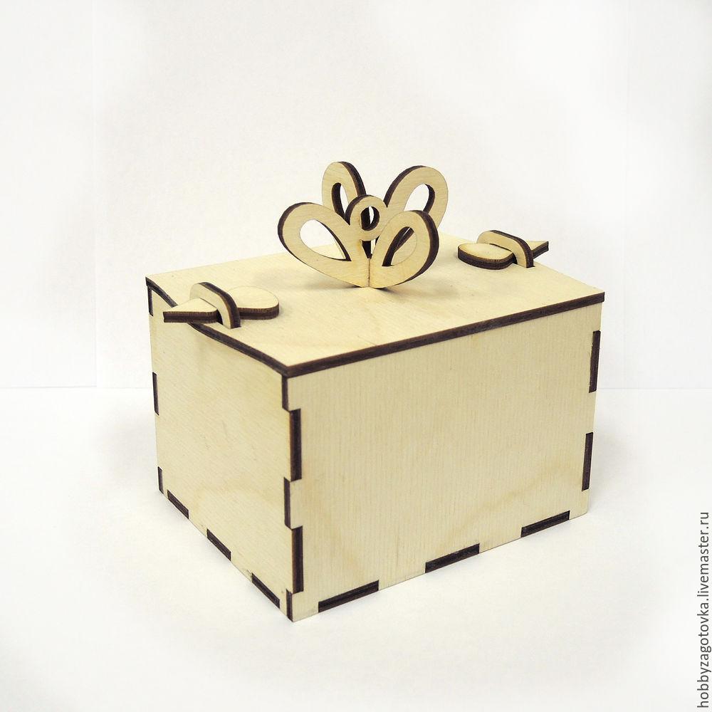Коробочка для подарка на елку. F-0483, Заготовки, Ступино, Фото №1
