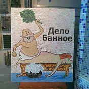 Картины и панно ручной работы. Ярмарка Мастеров - ручная работа мозаичное панно. Handmade.