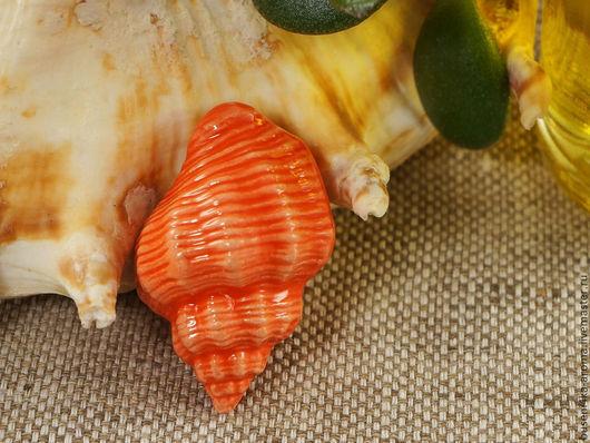 Для украшений ручной работы. Ярмарка Мастеров - ручная работа. Купить Аромакулон керамический №6 (красный). Handmade. Аромакулон, ароматерапия
