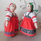 Куклы и игрушки ручной работы. Ярмарка Мастеров - ручная работа Куклы в народных костюмах. Handmade.