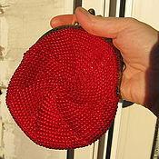 Сумки и аксессуары ручной работы. Ярмарка Мастеров - ручная работа Бисерный  кошелёк небольшой. Handmade.