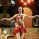 Танцевальные костюмы ручной работы. Ярмарка Мастеров - ручная работа. Купить Костюм для танцев. Handmade. Ярко-красный, синхронное плавание