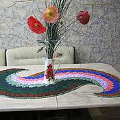 """Для дома и интерьера ручной работы. Ярмарка Мастеров - ручная работа Салфетка на стол """"Волна"""". Handmade."""