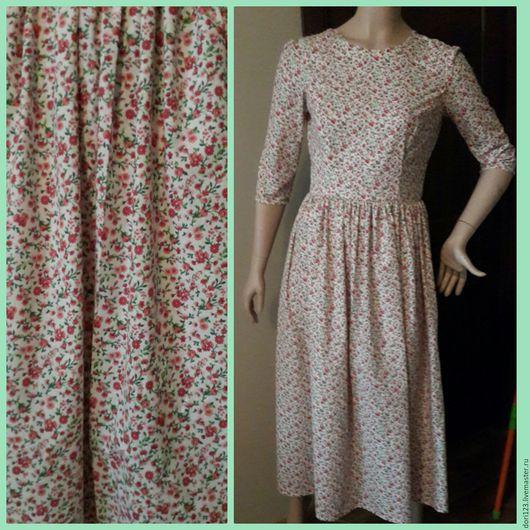 """Платья ручной работы. Ярмарка Мастеров - ручная работа. Купить Платье"""" Прованс"""". Handmade. Комбинированный, Платье нарядное, платье для девушки"""