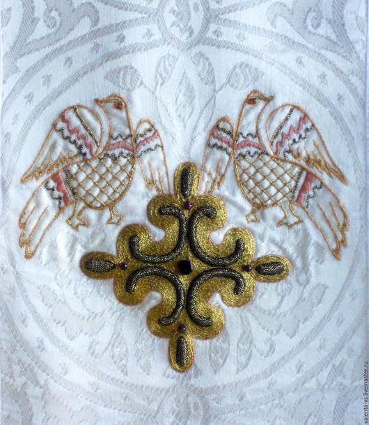 Сувениры ручной работы. Ярмарка Мастеров - ручная работа. Купить Золотное церковное шитье. Handmade. Золото, катапетасма, галун, апостол