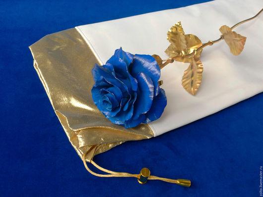 Подарочный мешочек для кованых цветов
