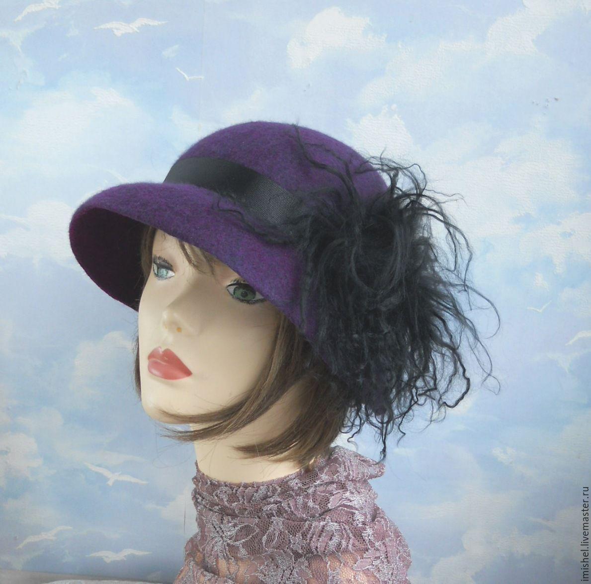 """валяная шляпа """"Незнакомка"""", Шляпы, Калининград, Фото №1"""