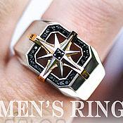 Украшения handmade. Livemaster - original item Ring-signet: Cardinal points. Handmade.