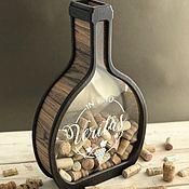 Сувениры и подарки handmade. Livemaster - original item Coin box for wine corks. Handmade.