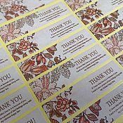 Материалы для творчества ручной работы. Ярмарка Мастеров - ручная работа Наклейка, стикер  (18 штук). Handmade.