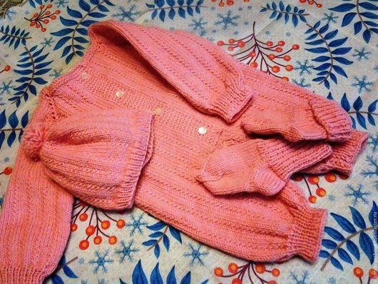 Одежда для девочек, ручной работы. Ярмарка Мастеров - ручная работа. Купить Комплект для новорожденной девочки. Handmade. Розовый, комплект для девочки