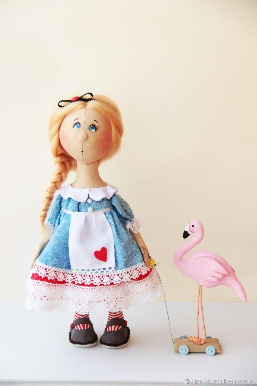 Алиса в стране чудес. Текстильная кукла, Тыквоголовка, Курск,  Фото №1
